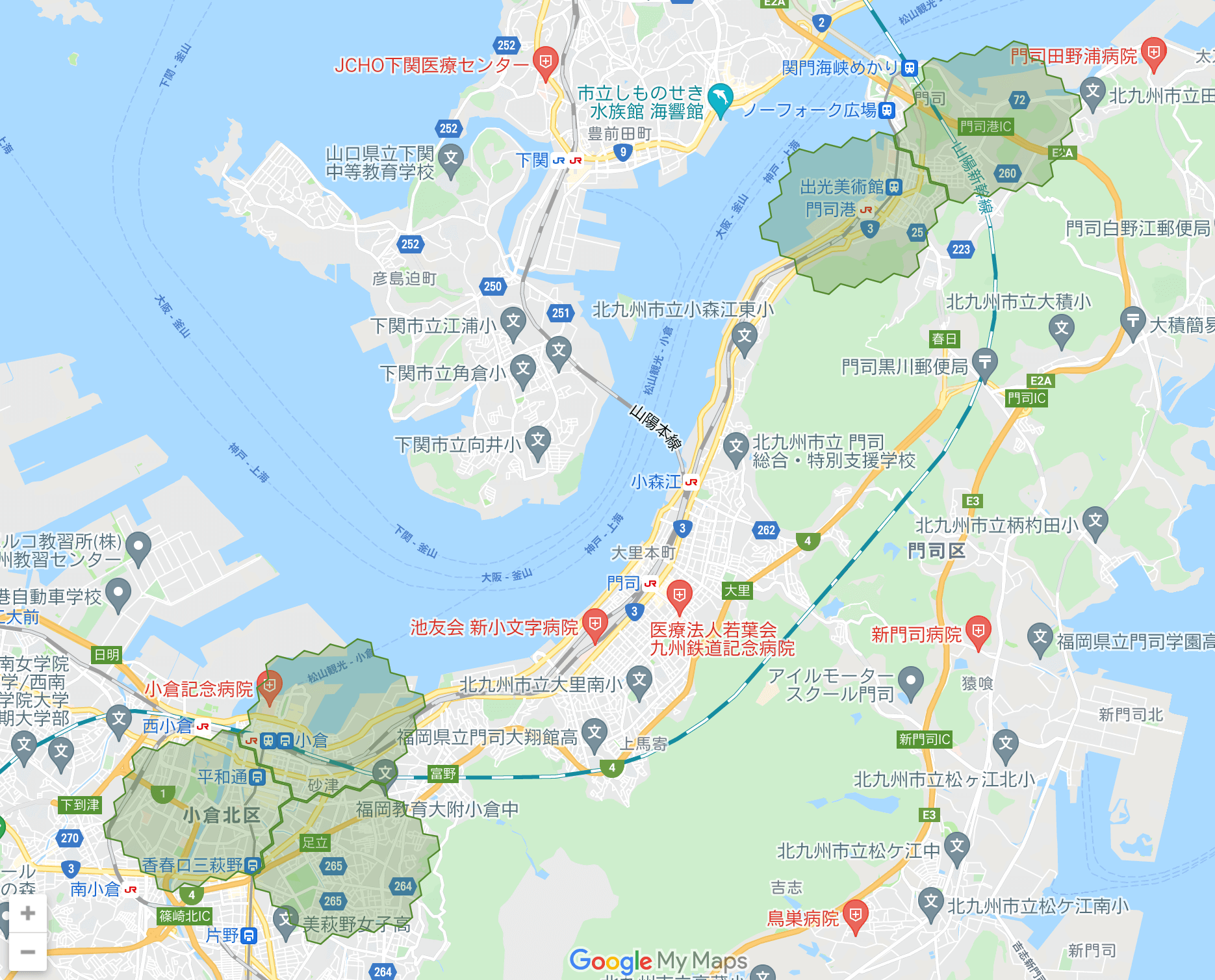 福岡のmenu(メニュー)配達エリア