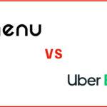 menu(メニュー)とウーバーイーツの違いを比較
